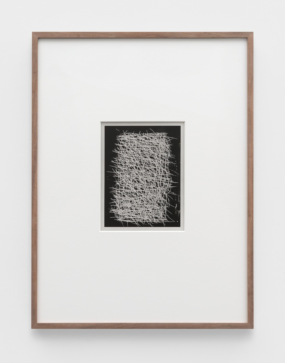 Anthony Pearson  Untitled (Solarization)  2011 Solarized silver gelatin photograph in artist frame 17 ½h x 13 ¼w x ¾d in AP363