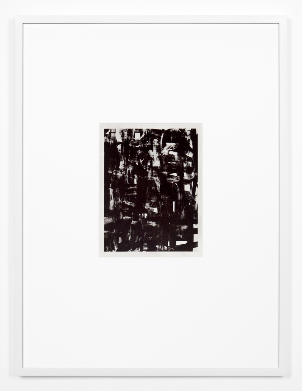 Anthony Pearson  Untitled (Solarization)  2011 Solarized silver gelatin photograph in artist frame 17 ½h x 13 ¼w x ¾d in AP311