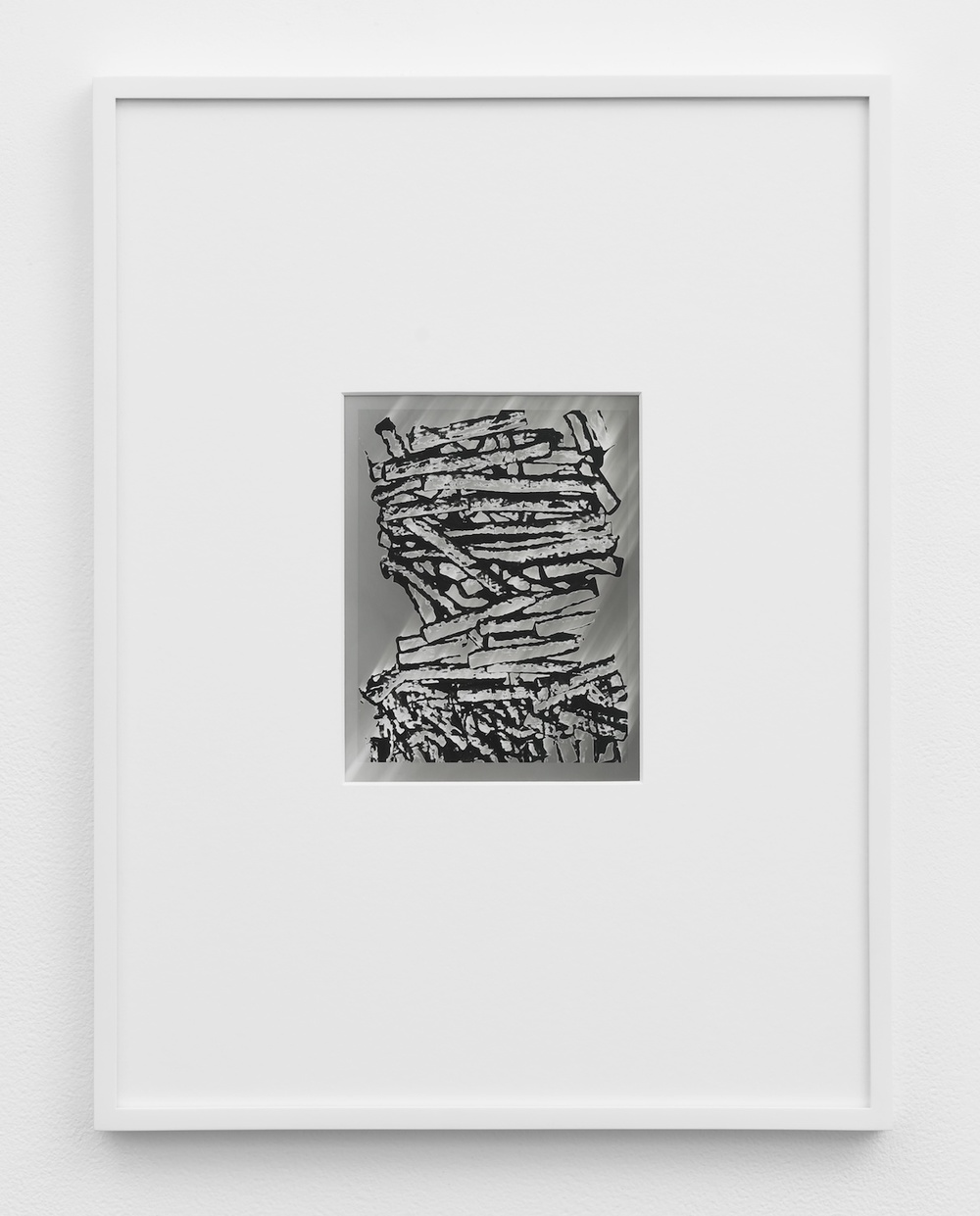 Anthony Pearson  Untitled (Solarization)  2011 Solarized silver gelatin photograph in artist frame 17 ½h x 13 ¼w x ¾d in AP277