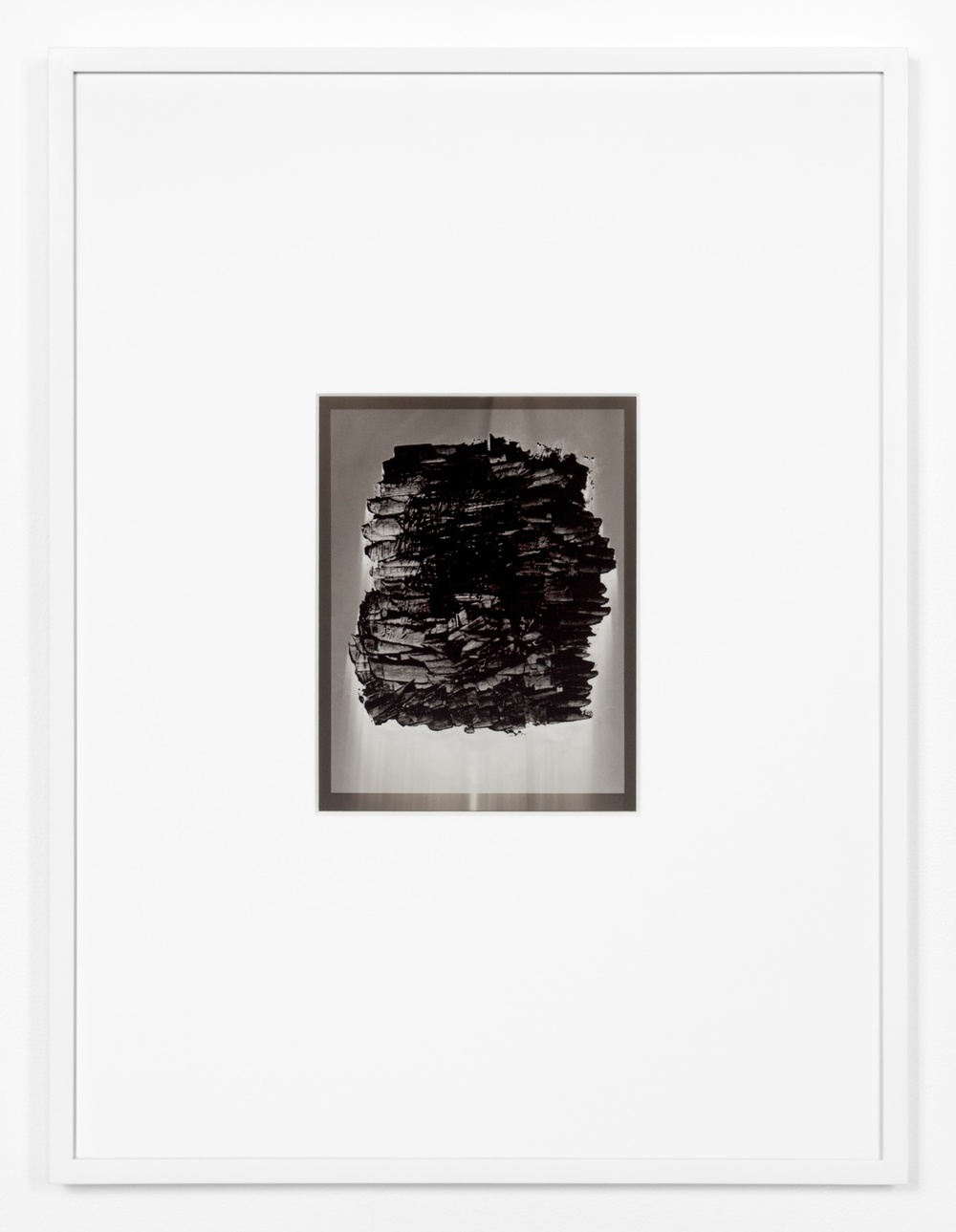 Anthony Pearson  Untitled (Solarization)  2011 Solarized silver gelatin photograph in artist frame 17 ½h x 13 ¼w x ¾d in AP317