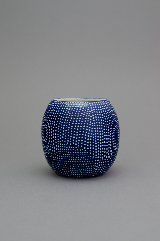 "Shio Kusaka (dot 56) 2014 Porcelain 8 1/2"" x 9"" x 9"" SK422"