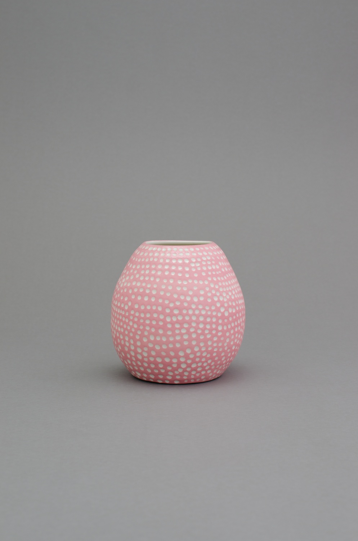 "Shio Kusaka (dot 58) 2014 Porcelain 6 3/4"" x 6 3/4"" x 6 3/4"" SK424"
