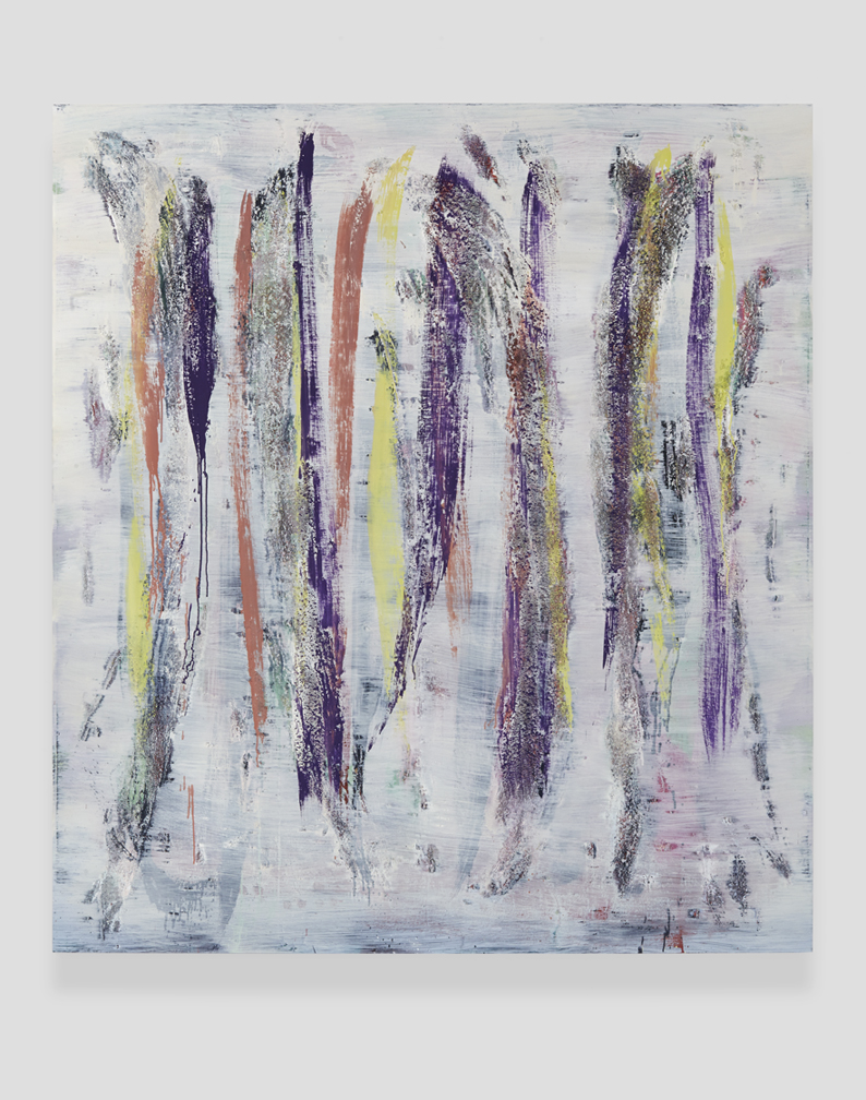 Jon Pestoni  Spaghetti  2014 Oil and mixed media on wood 67h x 60w in JP190