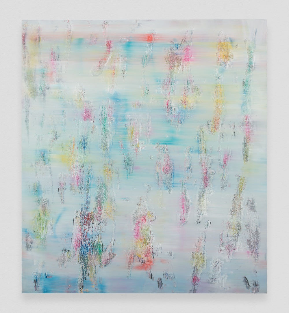 Jon Pestoni  Jawbreaker  2014 Oil and mixed media on wood 67h x 60w in JP191
