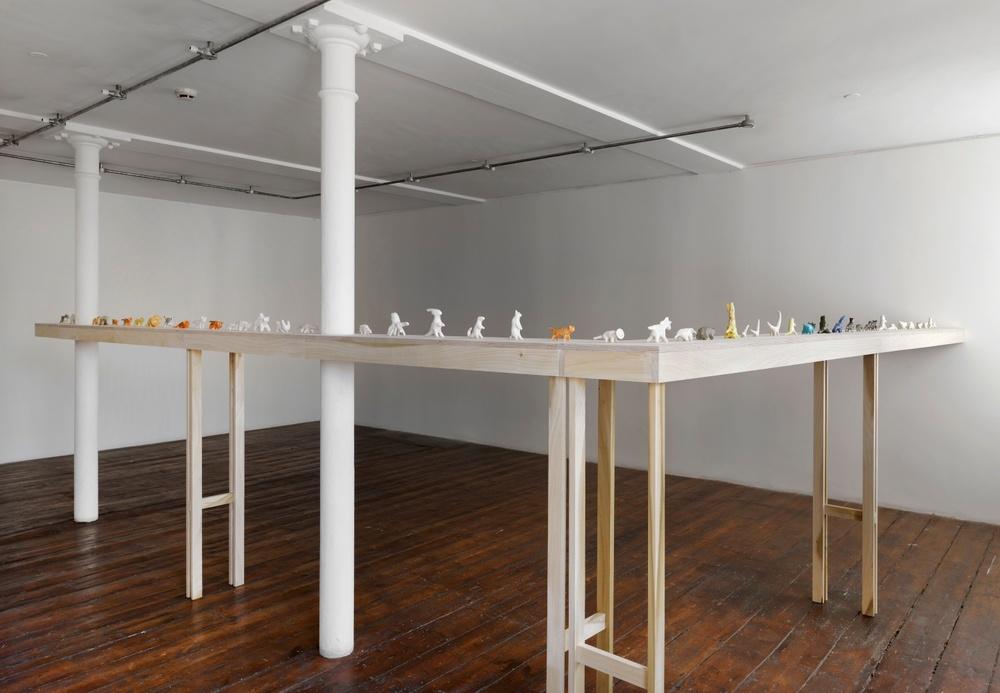 Shio Kusaka 2014 Greengrassi, London Installation View