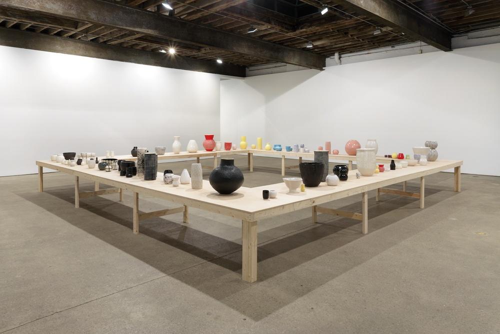 Shio Kusaka 2013 Anton Kern, New York Installation view