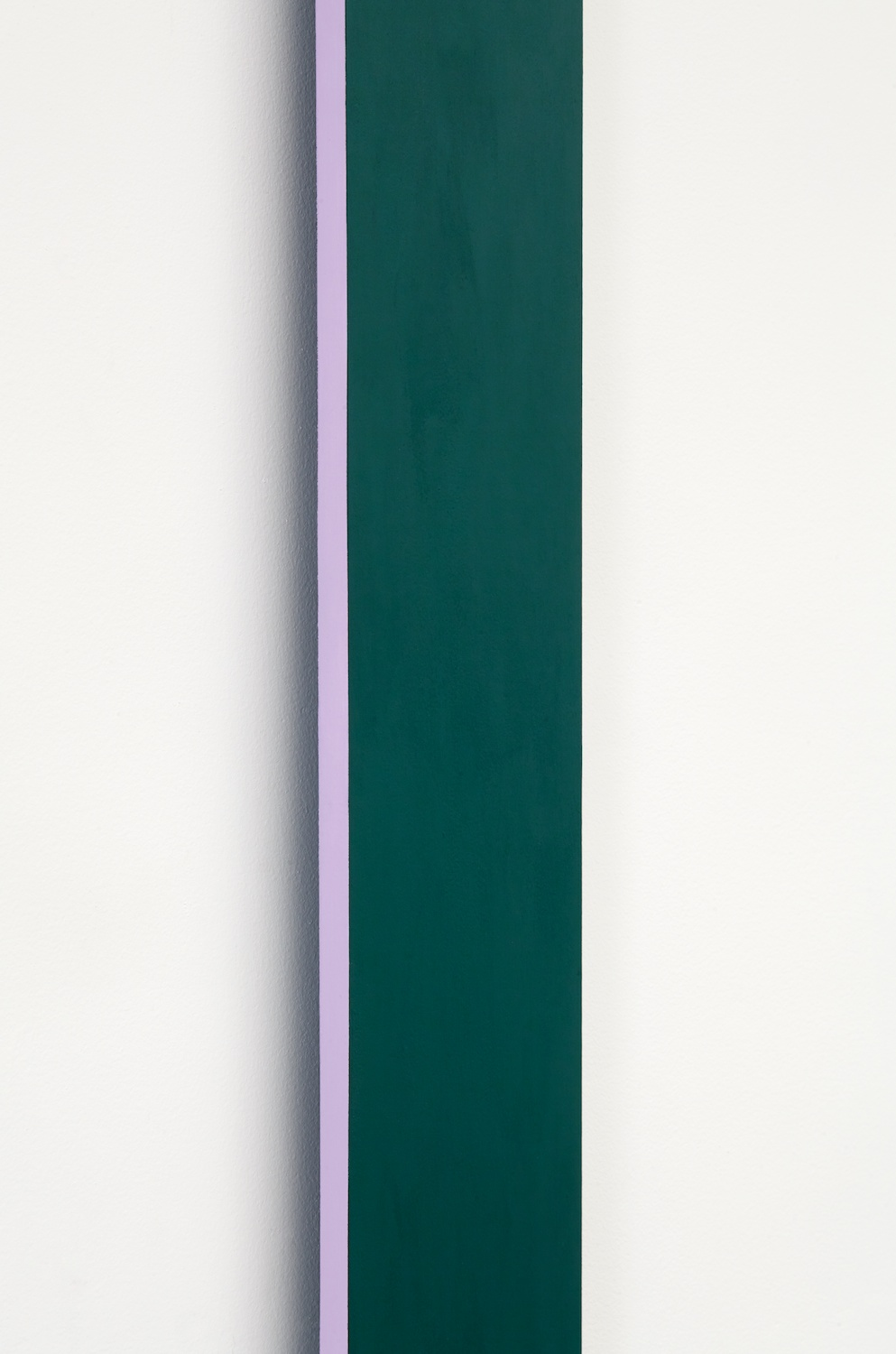 "Lisa Williamson Bookend 2014 Acrylic on aluminum 84"" x 30"" x 1"" LW145"