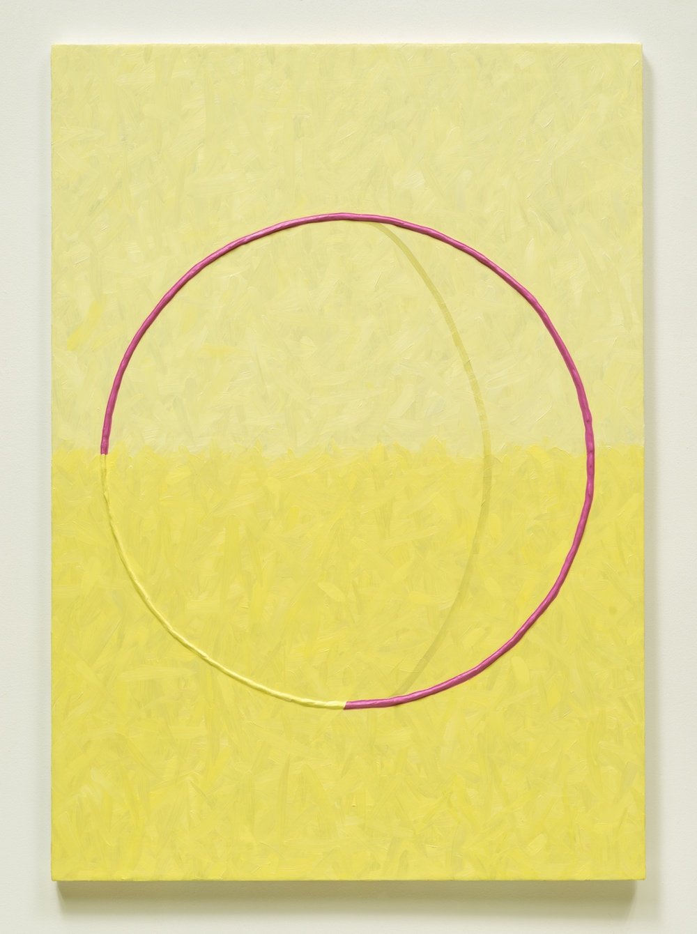 "Alex Olson Lure (4) 2014 Oil and modeling paste on linen 41"" x 29"" AO157"