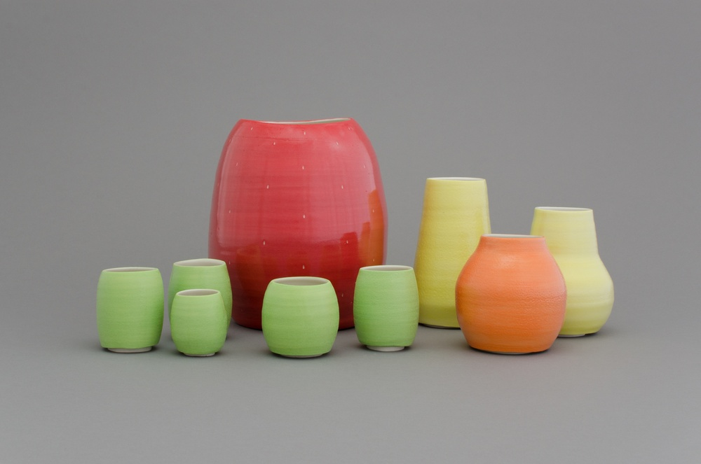 Shio Kusaka (fruits 8) 2014 Porcelain Dimensions variable SK432