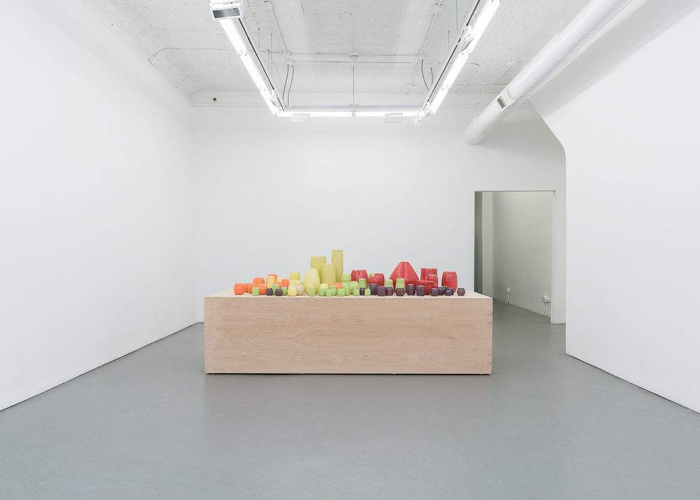 Shio Kusaka 2014 Shane Campbell Gallery, Chicago Installation View