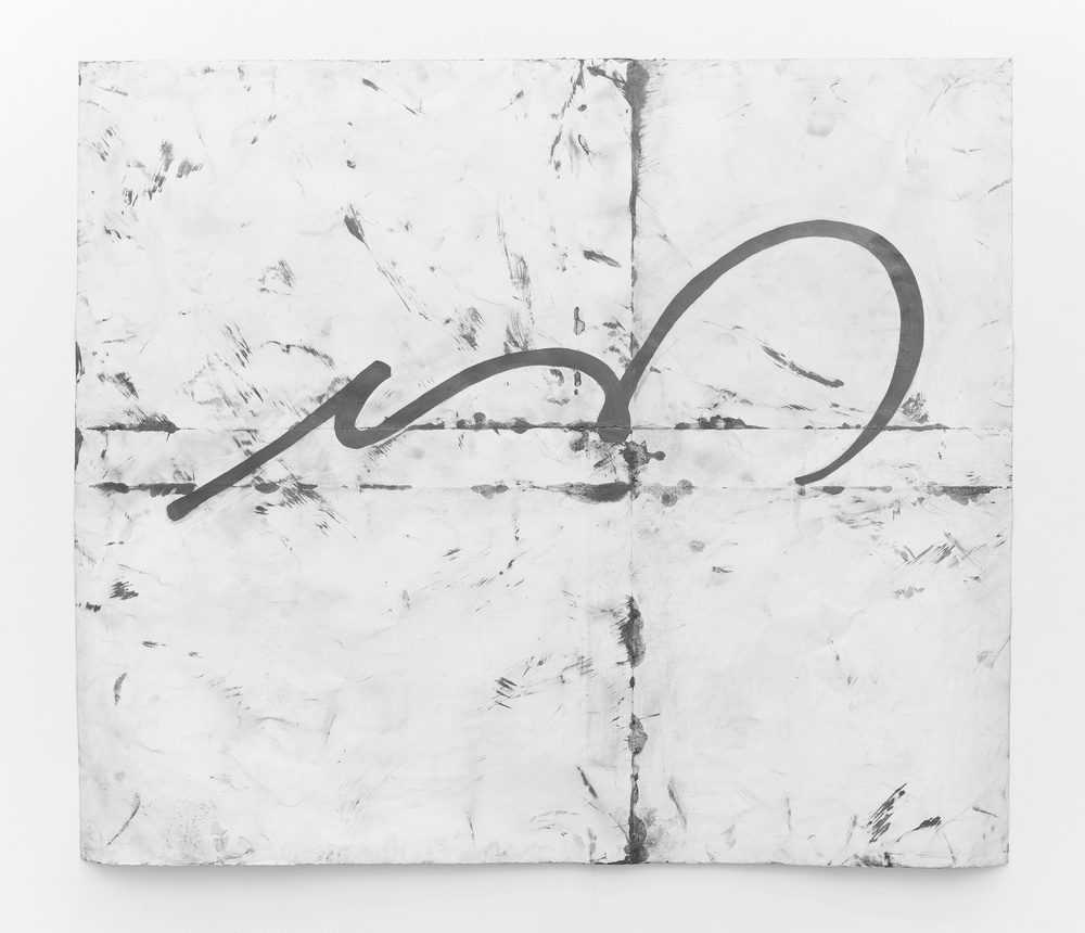 "Tony Lewis Talkative 2014 Pencil and graphite on paper 71 ½"" x 83 ¾"" TL226"
