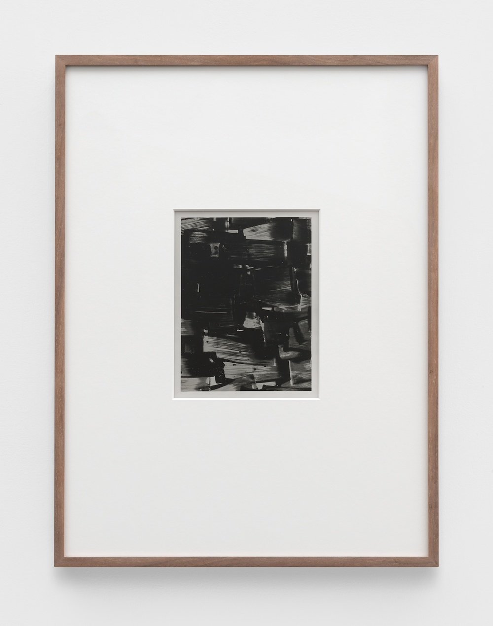 Anthony Pearson  Untitled (Solarization)  2011 Framed solarized silver gelatin photograph in artist frame 17 ½h x 13 ¼w in AP362
