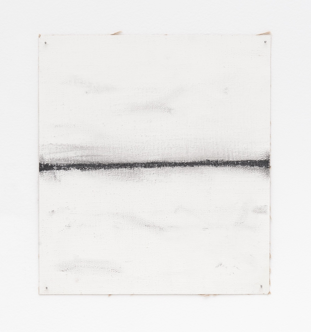 Bill Walton  Complex Roads (#4)  n.d. Paint, graphite on canvas 9 ¼h x 8 ½w in BW005