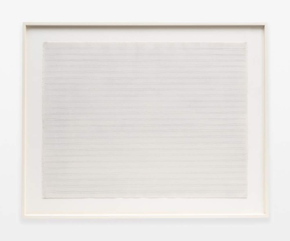 "Rudolf de Crignis Painting No. 91124 1991 Pencil on paper 19 ½"" x 25 ¾""  RDC001"