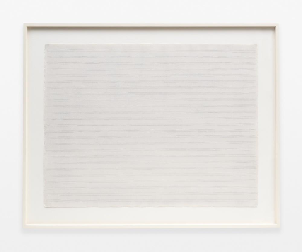 Rudolf de Crignis  Painting No. 91124  1991 Pencil on paper 19 ½h x 25 ¾w in  RDC001