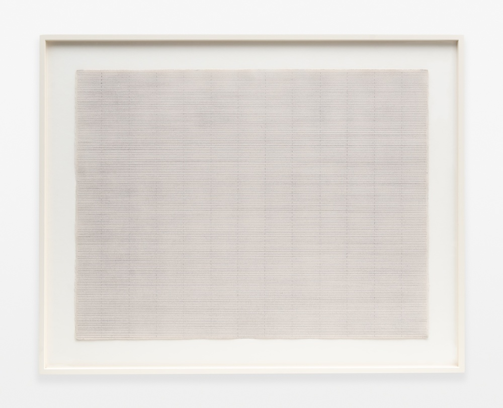 "Rudolf de Crignis Painting No. 92009 1992 Pencil on paper 19 ½"" x 25 ¾"""