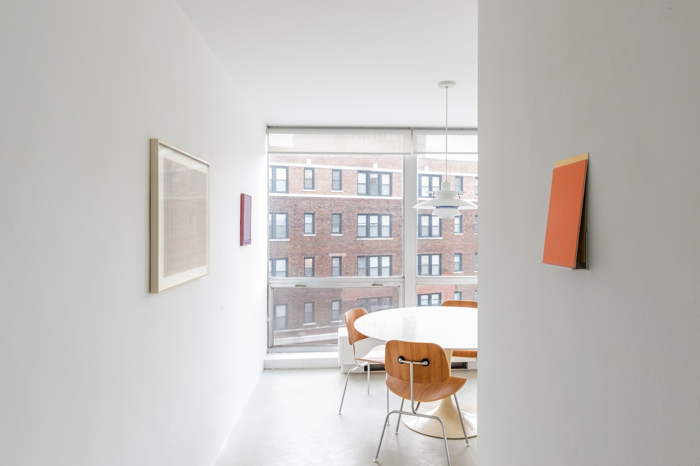 Rudolf de Crignis, Imi Knoebel, Julia Rommel, Bill Walton 2015 Shane Campbell Gallery, Lincoln Park Installation View