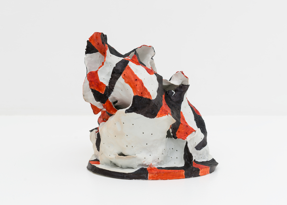 "Joanne Greenbaum Untitled 2015 Porcelain 8"" x 10"" x 8"" JG082"