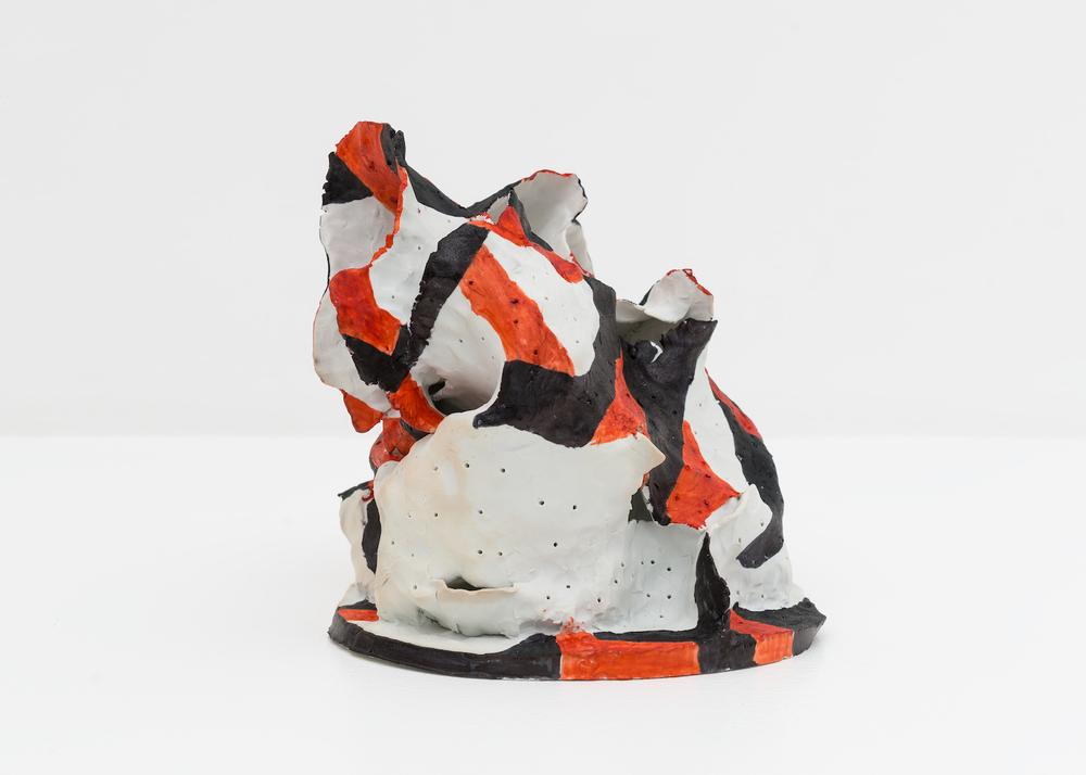 Joanne Greenbaum  Untitled  2015 Porcelain 8h x 10w x 8d in JG082