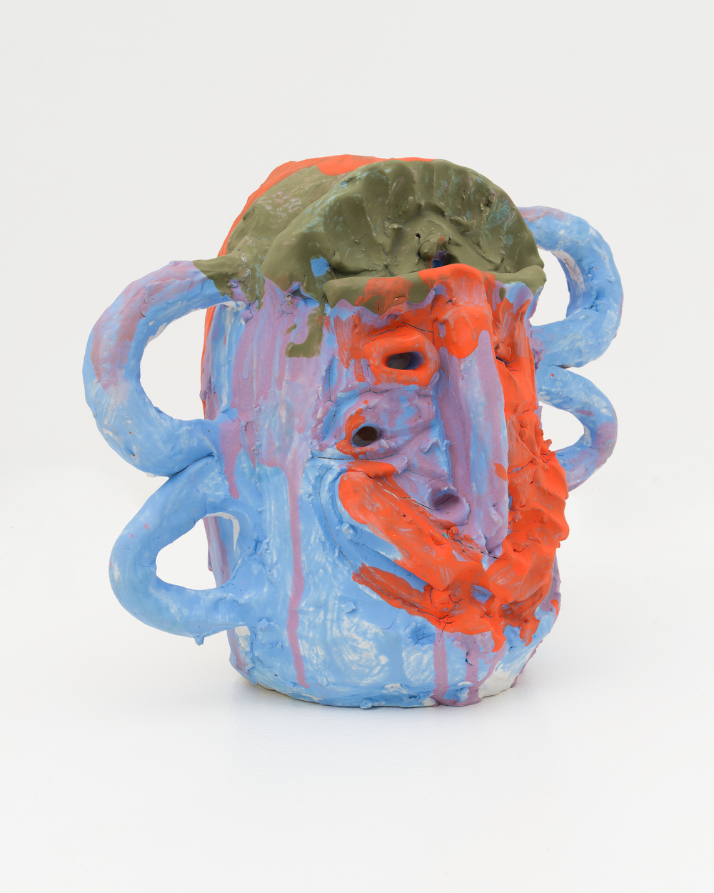 "William J. O'Brien Untitled 2015 Glazed ceramic 11"" x 13"" x 8"" WOB1005"