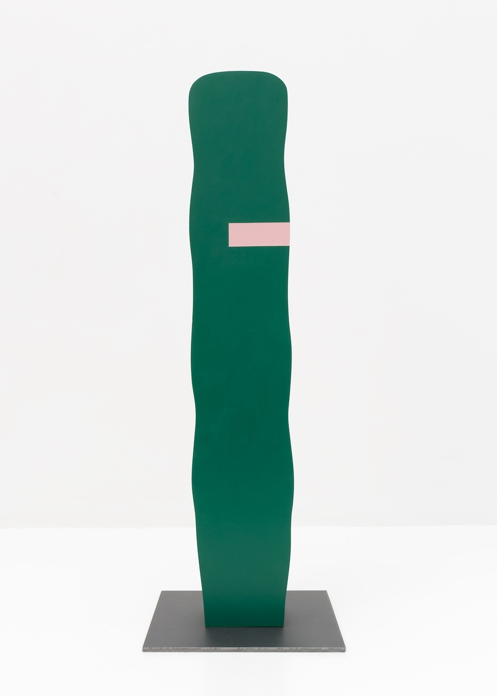 Lisa Williamson  Untitled  2015 Acrylic on wood, steel base 23 ½h x 8w x 8d in LW148