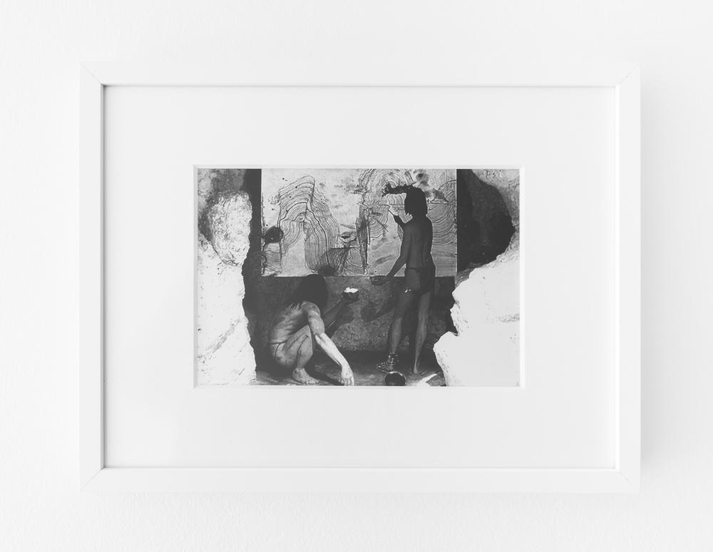 "Jay Heikes  Behind The Music  2015 Silver gelatin print 9 ½"" x 6 ½"" JH046"