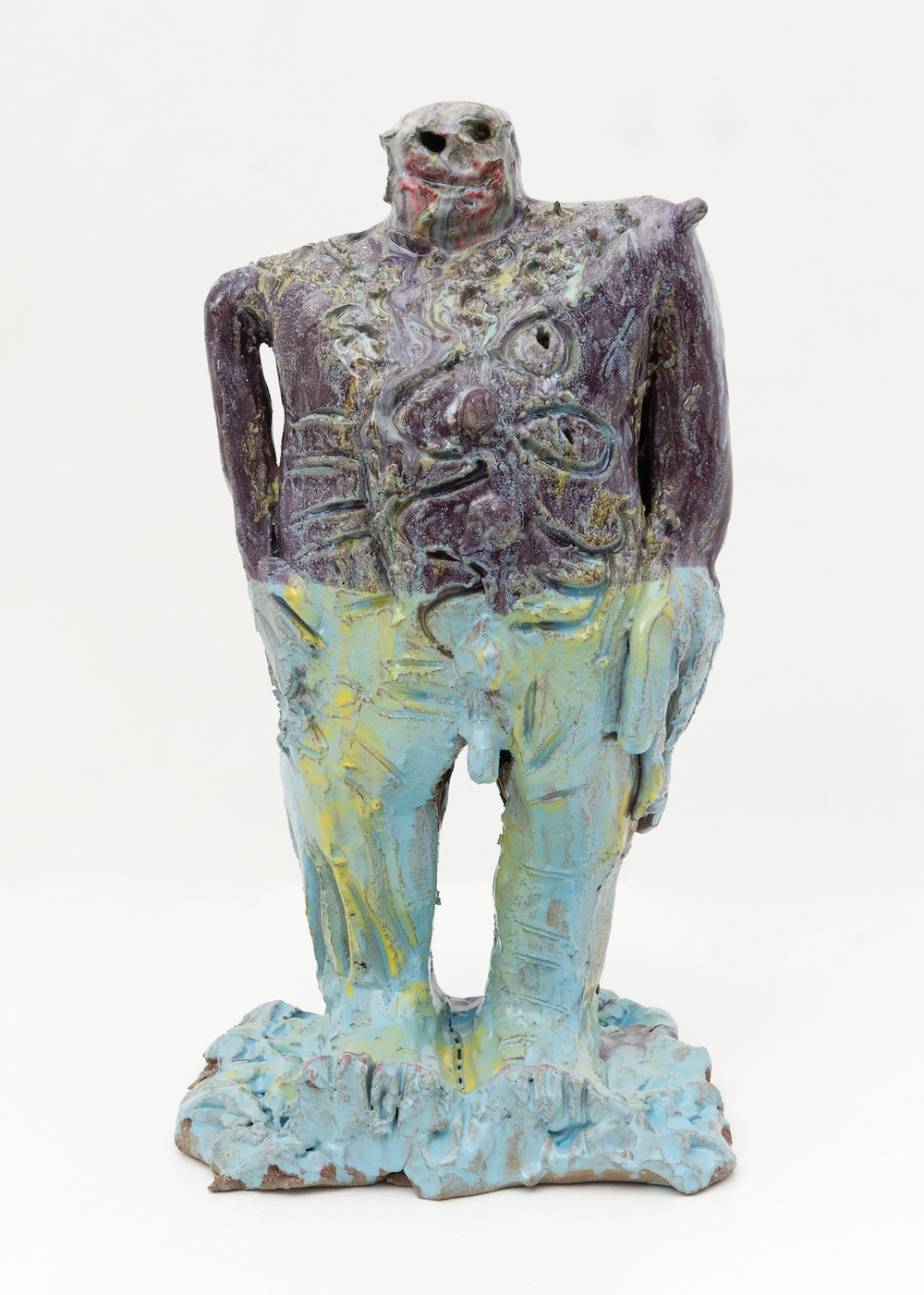 "William J. O'Brien Untitled 2015 Glazed ceramic 20 ¾"" x 10"" x 10 ½"" WOB997"