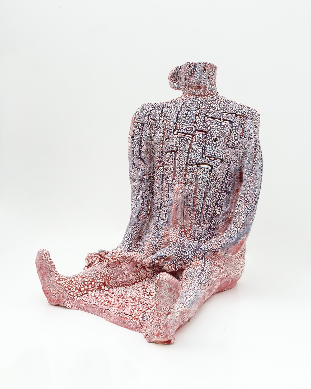 "William J. O'Brien Untitled 2015 Glazed ceramic 23"" x 16"" x 22"" WOB998"