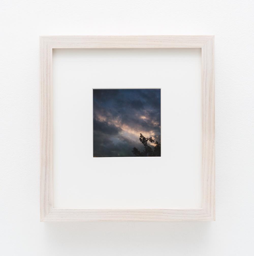 """Nobuyoshi Araki Sky 2006-2009 Polaroid 4 ¼""""x 3 ½"""" NA014"""