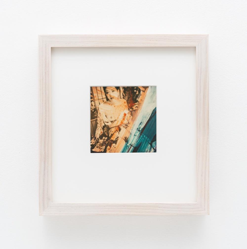 """Nobuyoshi Araki Pola eros 2006-2009 Polaroid 4 ¼""""x 3 ½"""" NA020"""