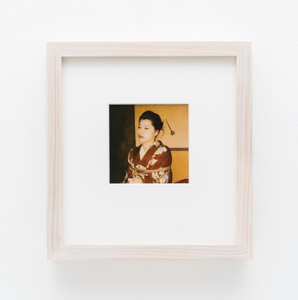 """Nobuyoshi Araki Pola eros 2006-2009 Polaroid 4 ¼""""x 3 ½"""" NA029"""