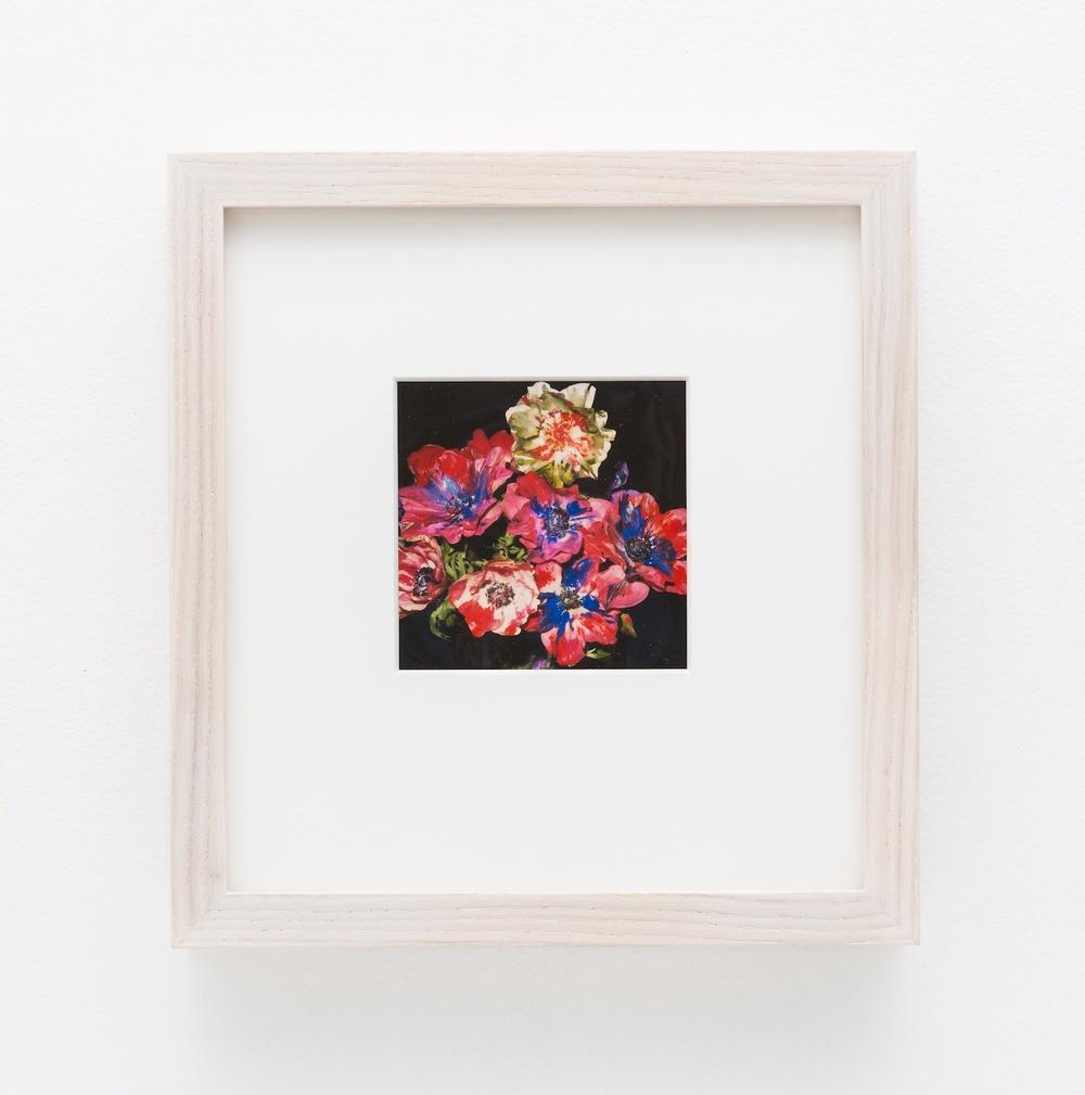 """Nobuyoshi Araki Flower 2006-2009 Polaroid 4 ¼""""x 3 ½"""" NA033"""
