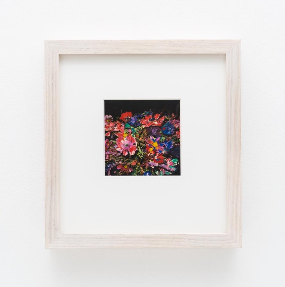 """Nobuyoshi Araki Flower 2006-2009 Polaroid 4 ¼""""x 3 ½"""" NA037"""