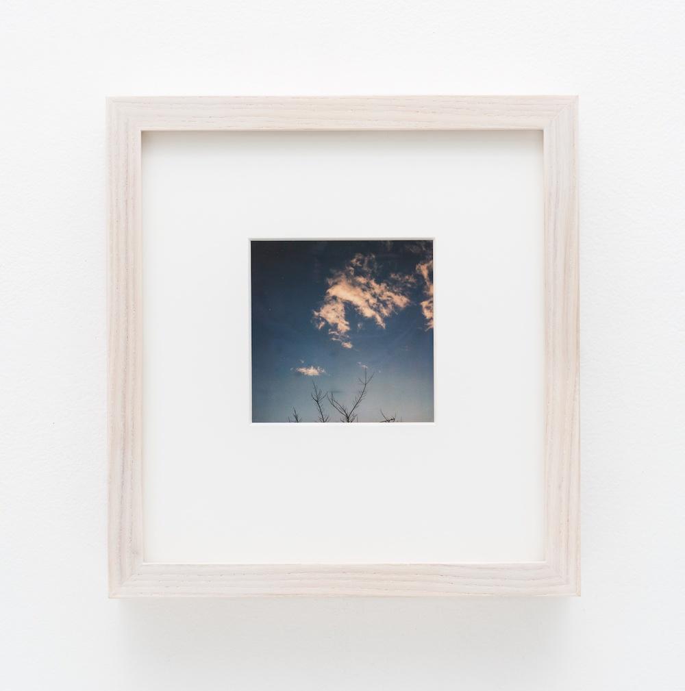 """Nobuyoshi Araki Sky 2006-2009 Polaroid 4 ¼""""x 3 ½"""" NA040"""