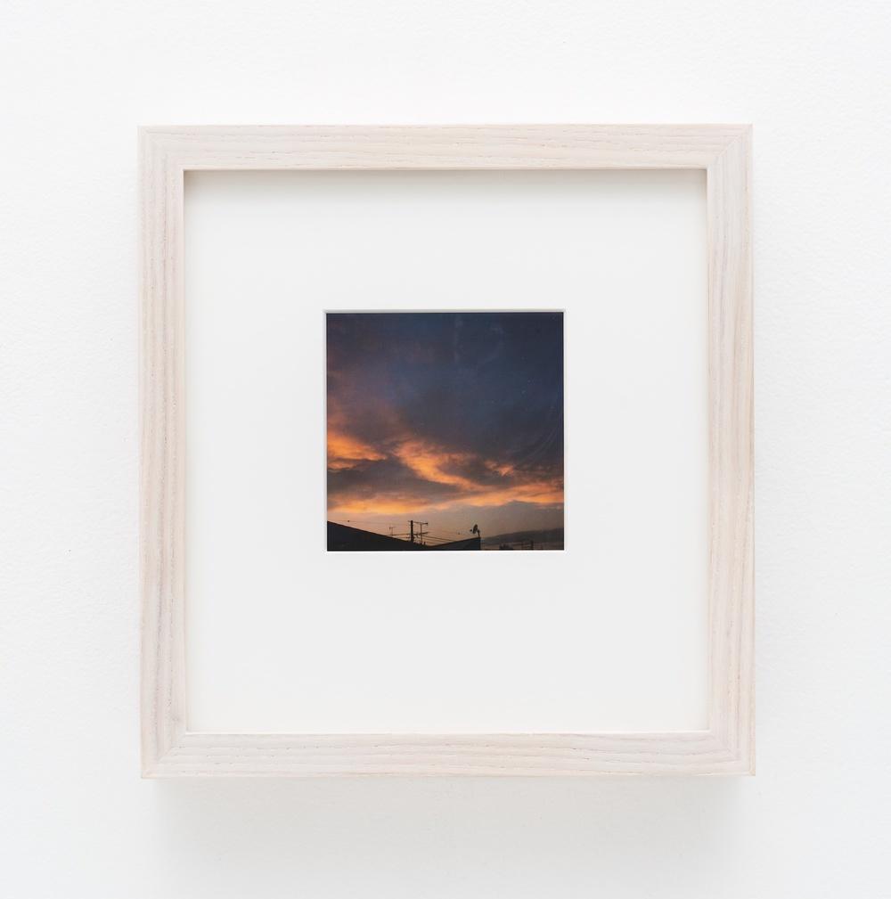 """Nobuyoshi Araki Sky 2006-2009 Polaroid 4 ¼""""x 3 ½"""" NA013"""