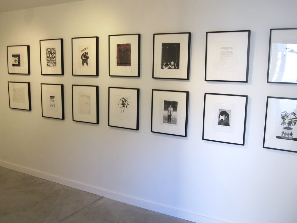 Rita Ackermann, Carter, Anne Collier, Ann Craven, Wade Guyton, Tamar Halpern, Matthew Higgs, Scott King, Nate Lowman, Ari Marcopoulos, Adam McEwen, Dave Muller, Oliver Payne and Nick Relph, Anthony Pearson, Josh Smith, Jonas Wood Xerox Prints published by White Columns 2009 Shane Campbell Gallery, Oak Park Installation View
