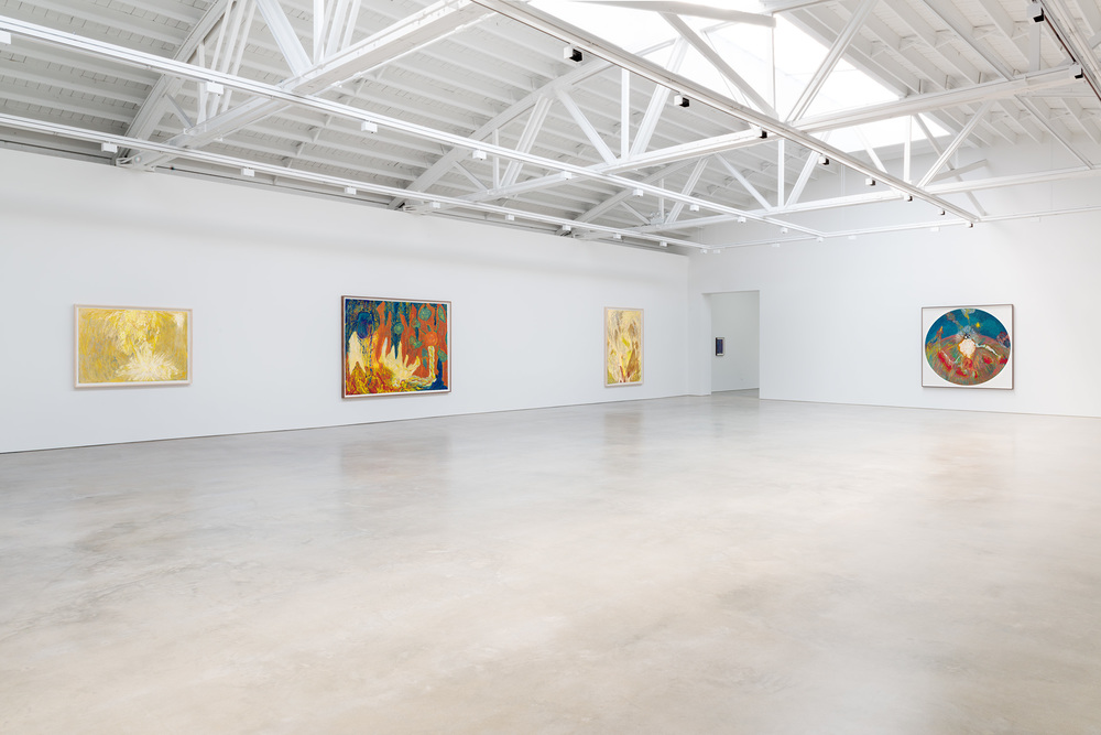 "Mimi Lauter Carnival of ""Musical Echo"" 2015 Shane Campbell Gallery, Chicago Installation View"