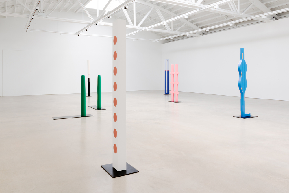Lisa Williamson Dimensional Shapes in Space 2015 Shane Campbell Gallery, Chicago Installation View
