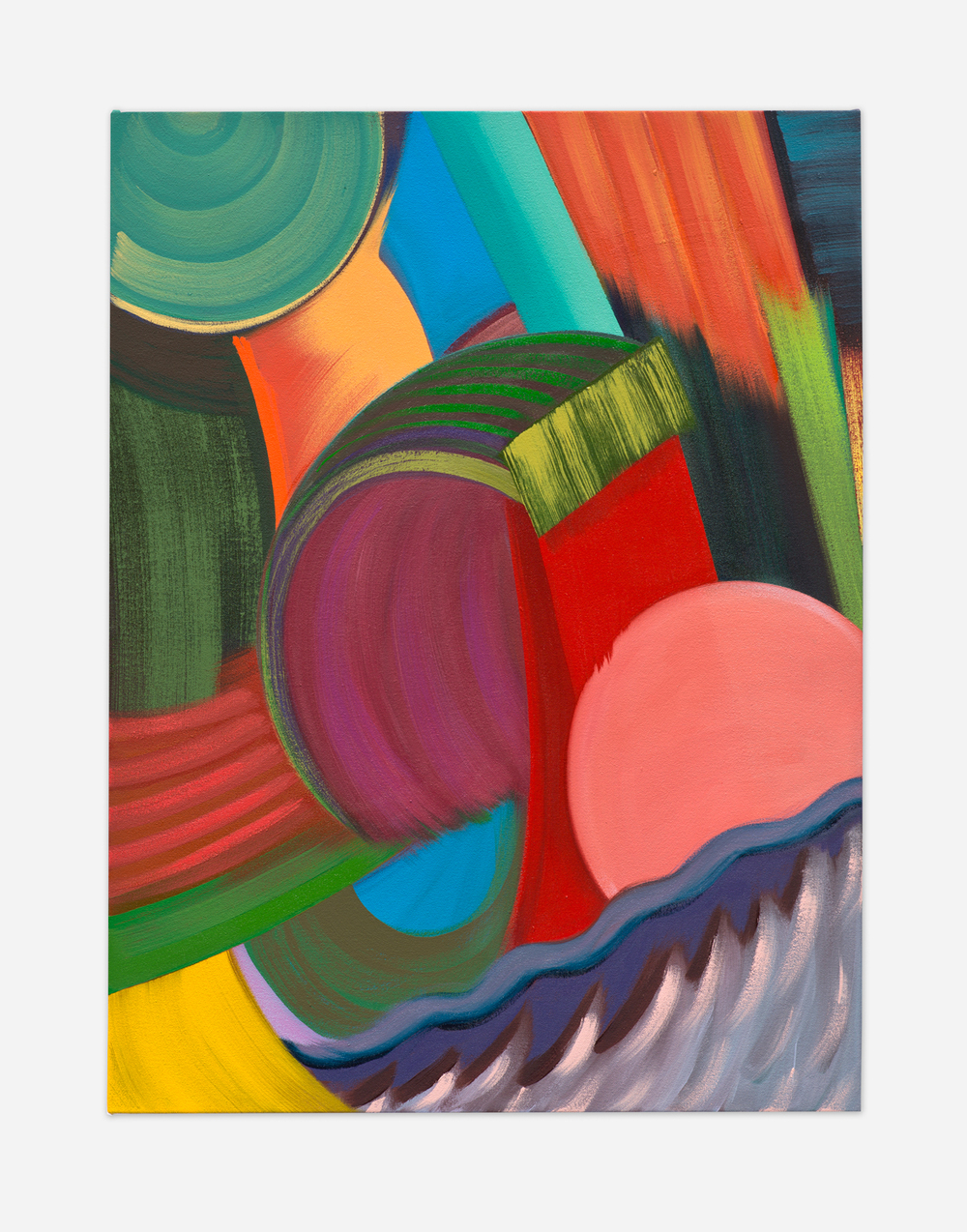 Alex Olson  Filter (2)  2015 Oil on canvas 24h x 18w in AO184