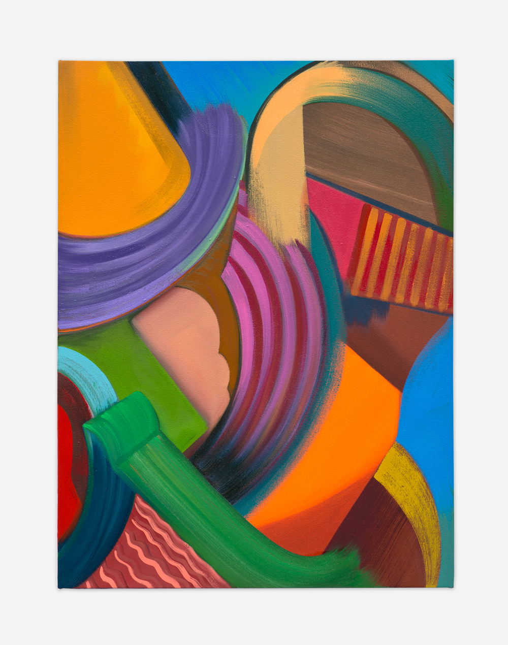 Alex Olson  Filter (3)  2015 Oil on canvas 24h x 18w in AO185