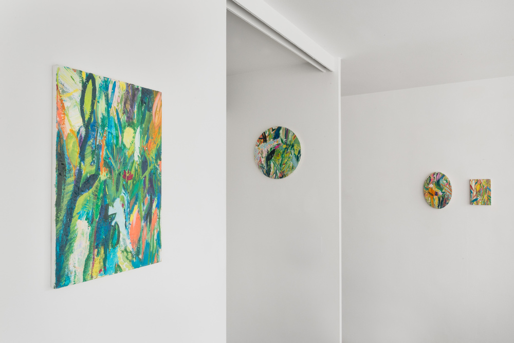 Miki Mochizuka Coexistence 2016 Shane Campbell Gallery, Lincoln Park Installation view