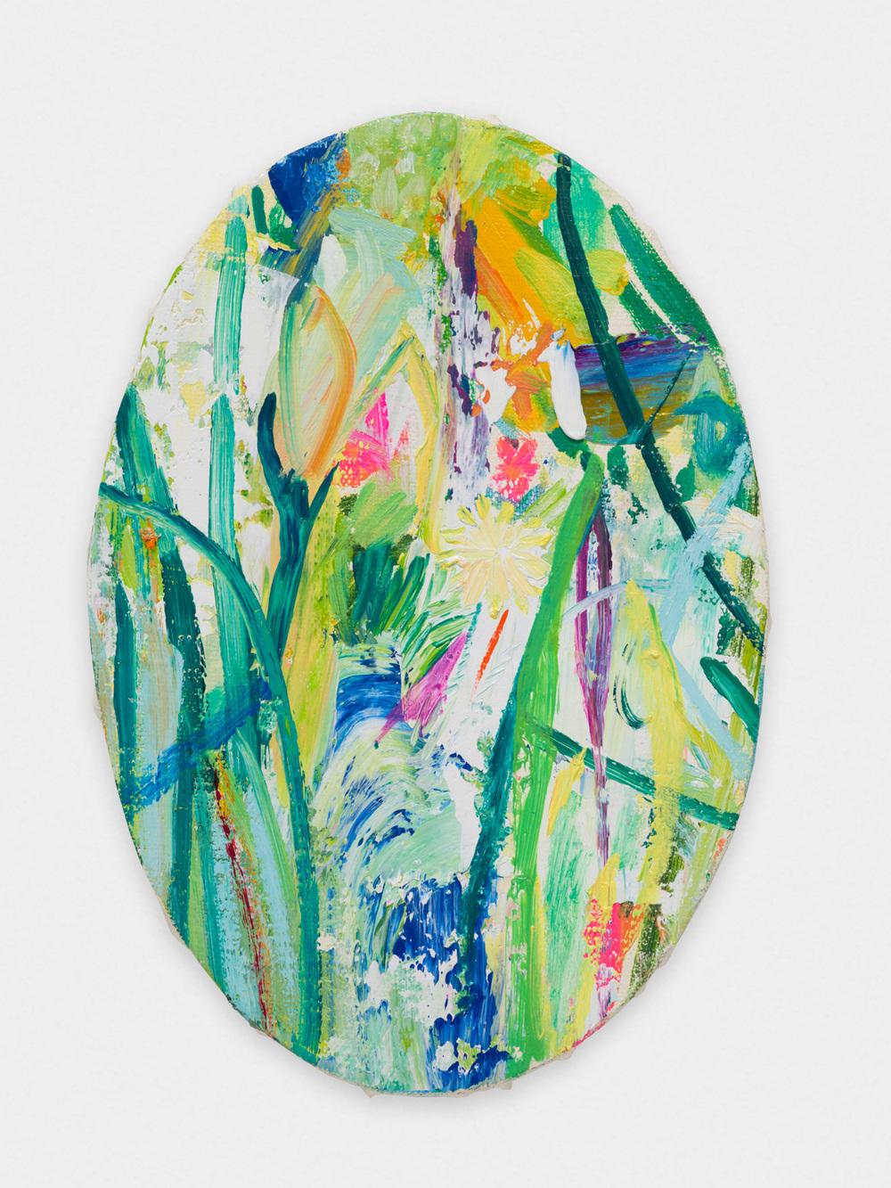 Miki Mochizuka  CYF  2015 - 2016 Oil on canvas 11.22h x 7.68w in (28.5h x 19.5w cm) MikiM002