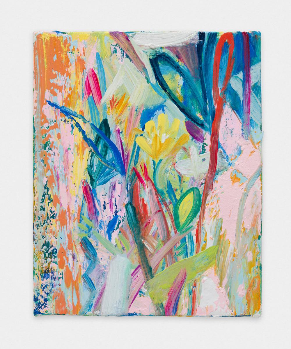 Miki Mochizuka  Light that Overlaps  2015 - 2016 Oil on canvas 10.75h x 8.66w in (27.3h x 22w cm) MikiM004