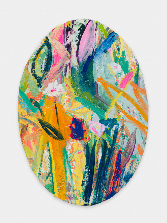 Miki Mochizuka  WF  2015 - 2016 Oil on canvas 13.58h x 9.45w in (34.5h x 24w cm) MikiM006