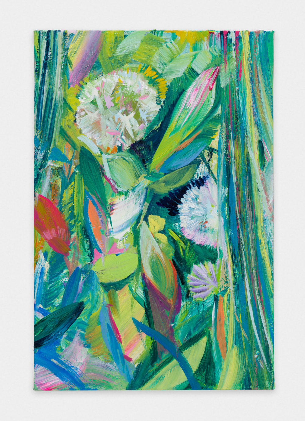 Miki Mochizuka  G  2015 - 2016 Oil on canvas 16.14h x 10.75w in (41h x 27.3w cm) MikiM007