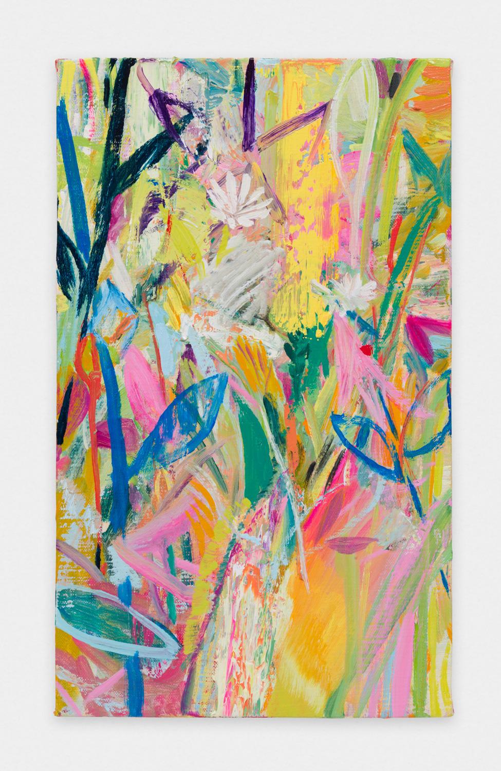 Miki Mochizuka  CMYK  2015 - 2016 Oil on canvas 17.91h x 10.75w in (45.5h x 27.3w cm) MikiM009