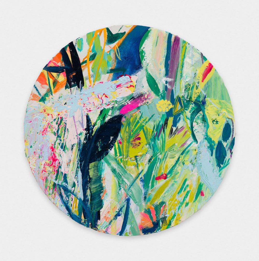 Miki Mochizuka C&Y 2015 - 2016 Oil on Canvas 16.14 x 16.14 in (41h x 41w cm) MikiM008