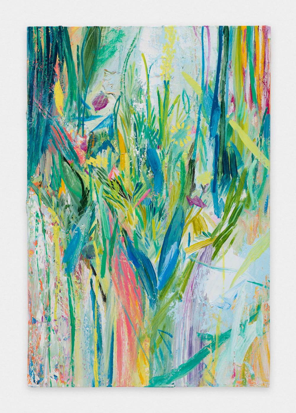 Miki Mochizuka  Trophy  2015 - 2016 Oil on canvas 23.86h x 16.14w in (60.6h x 41w cm) MikiM011