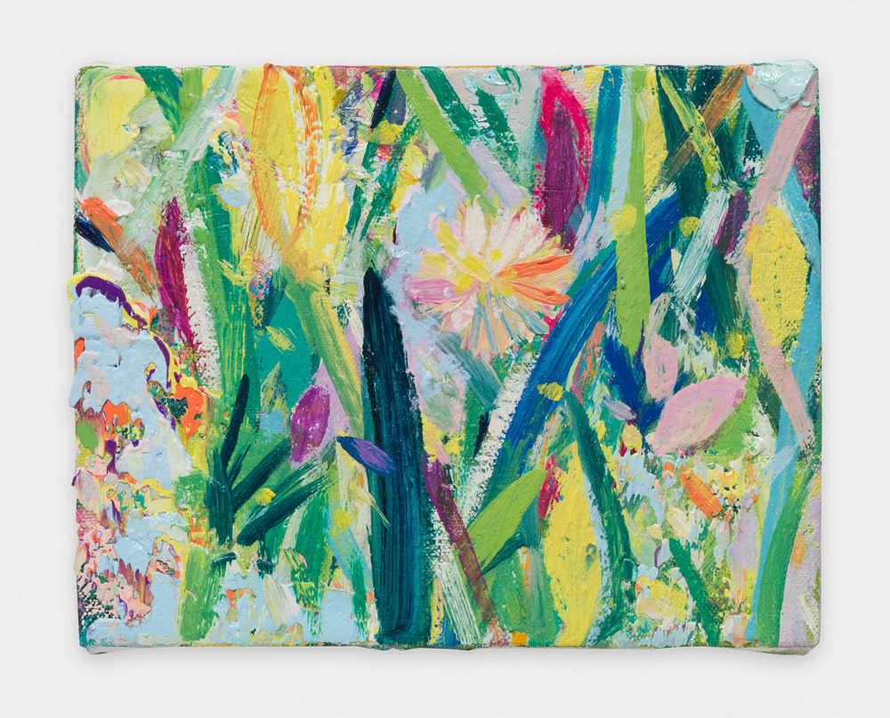Miki Mochizuka Small Light 2015 - 2016 Oil on canvas 5.51 x 7.09 in (14h x 18.01w cm) MikiM017