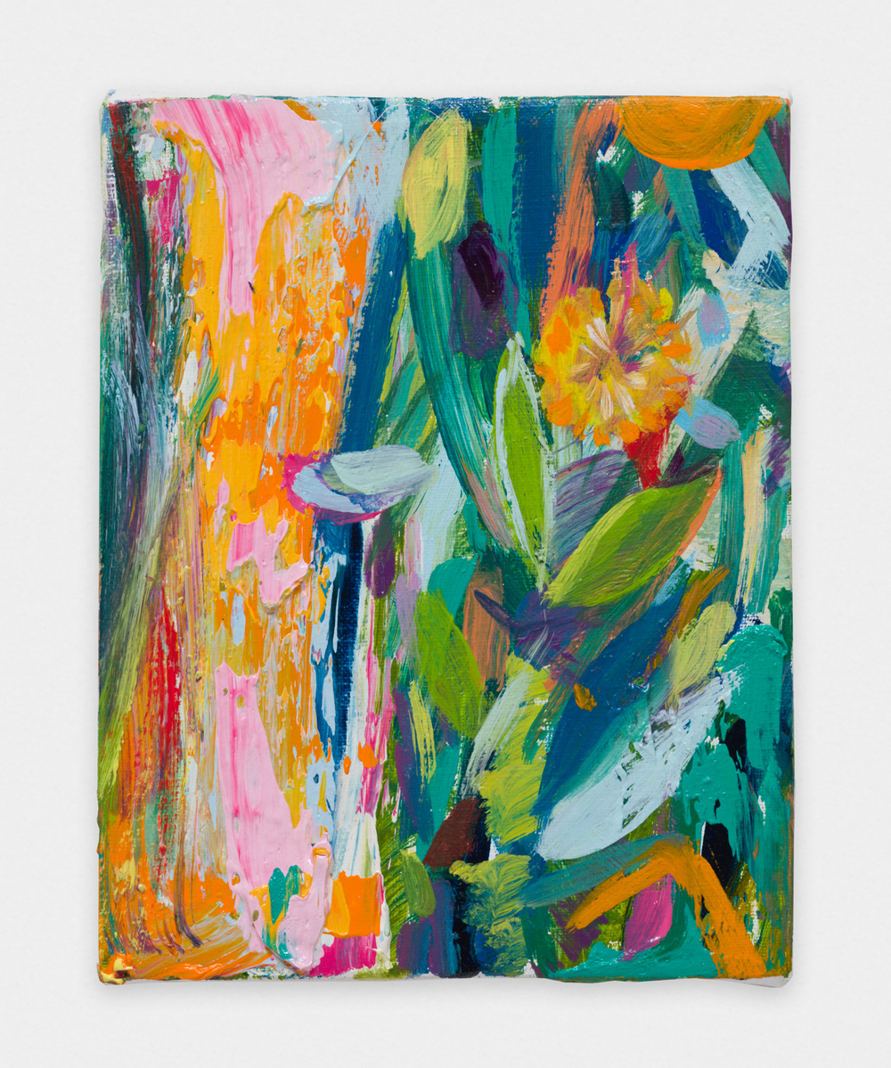 Miki Mochizuka  oP  2015 - 2016 Oil on canvas 7.09h x 5.51w in (18h x 14w cm) MikiM018